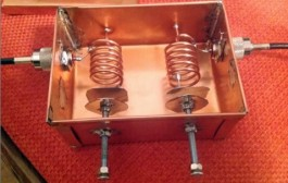 145 MHz Low Loss Bandpass Helical Filter