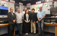 Yaesu Japan Directors Visit Europe's Ham Store and Demonstration Centre