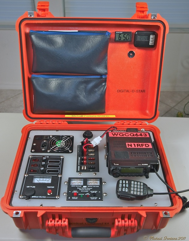 Radio Incident Command Kit by N1RFD