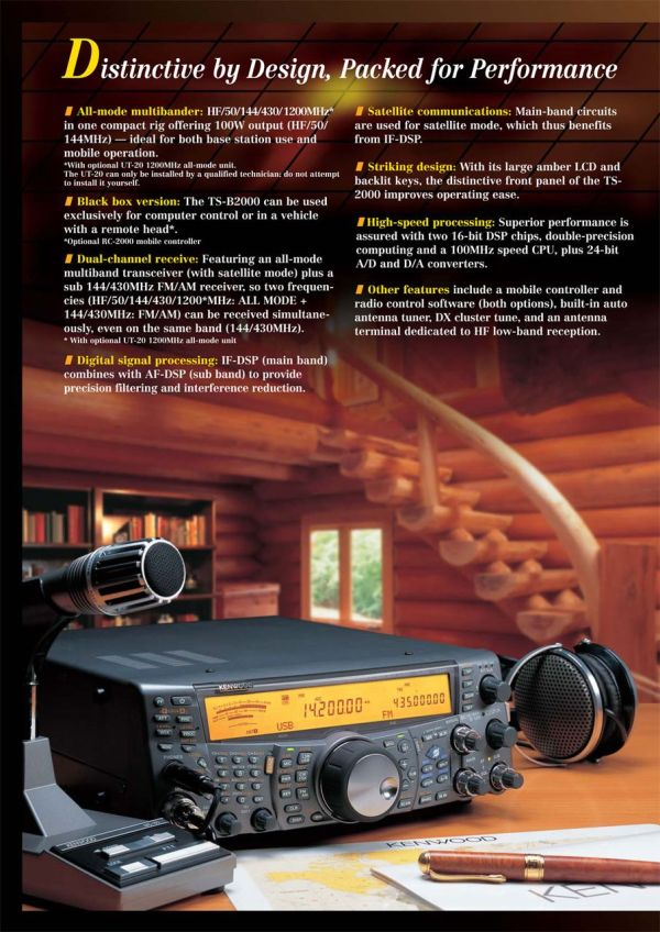 Large Photo Kenwood Ts 2000 - Year of Clean Water