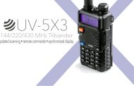 Unboxing and Testing the BaofengTech UV-5X3 Triband HT