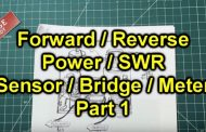 How To Build An SWR / Relative Power Bridge – Part 1