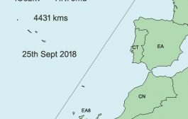 G3SMT works Cape Verde Islands to set new 144 MHz Tropo record
