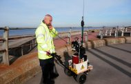 W6LG Talks To David G4AKC Who Is Pedestrian Mobile In The UK
