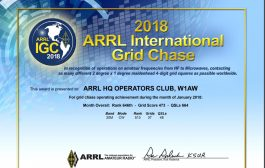 2018 ARRL International Grid Chase Certificates Page Now Live