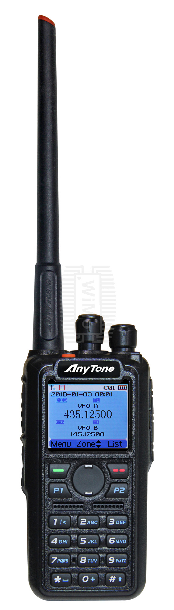 Anytone AT-D878UV Dual Band DMR HT with APRS - Nerfd net - RF News