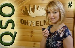 YL Raisa introduces how to spell Russian Callsigns during a QSO