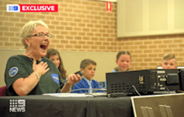 ARISS Contact with Australian School Proves Educational on More Than One Continent