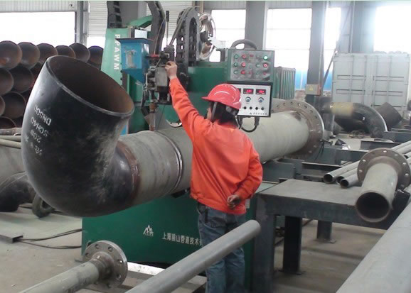 Saw Piping Welding Machine Qspt Cover Welding Equipment