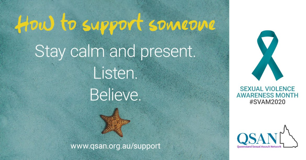 How to support someone - a tiny starfish on a teal sand under the water background