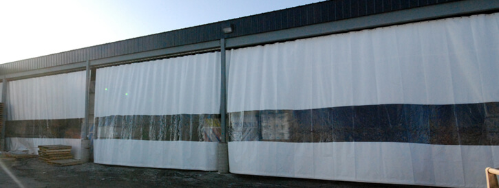 Industrial Curtains For Warehouses Freezers Welding