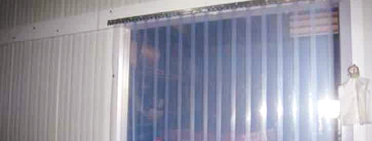 Freezer Strip Curtains  Commercial Kitchens Warehouses