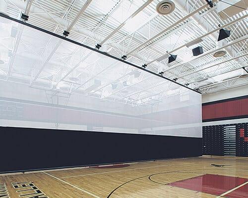 shop gym curtains gymnasium divider