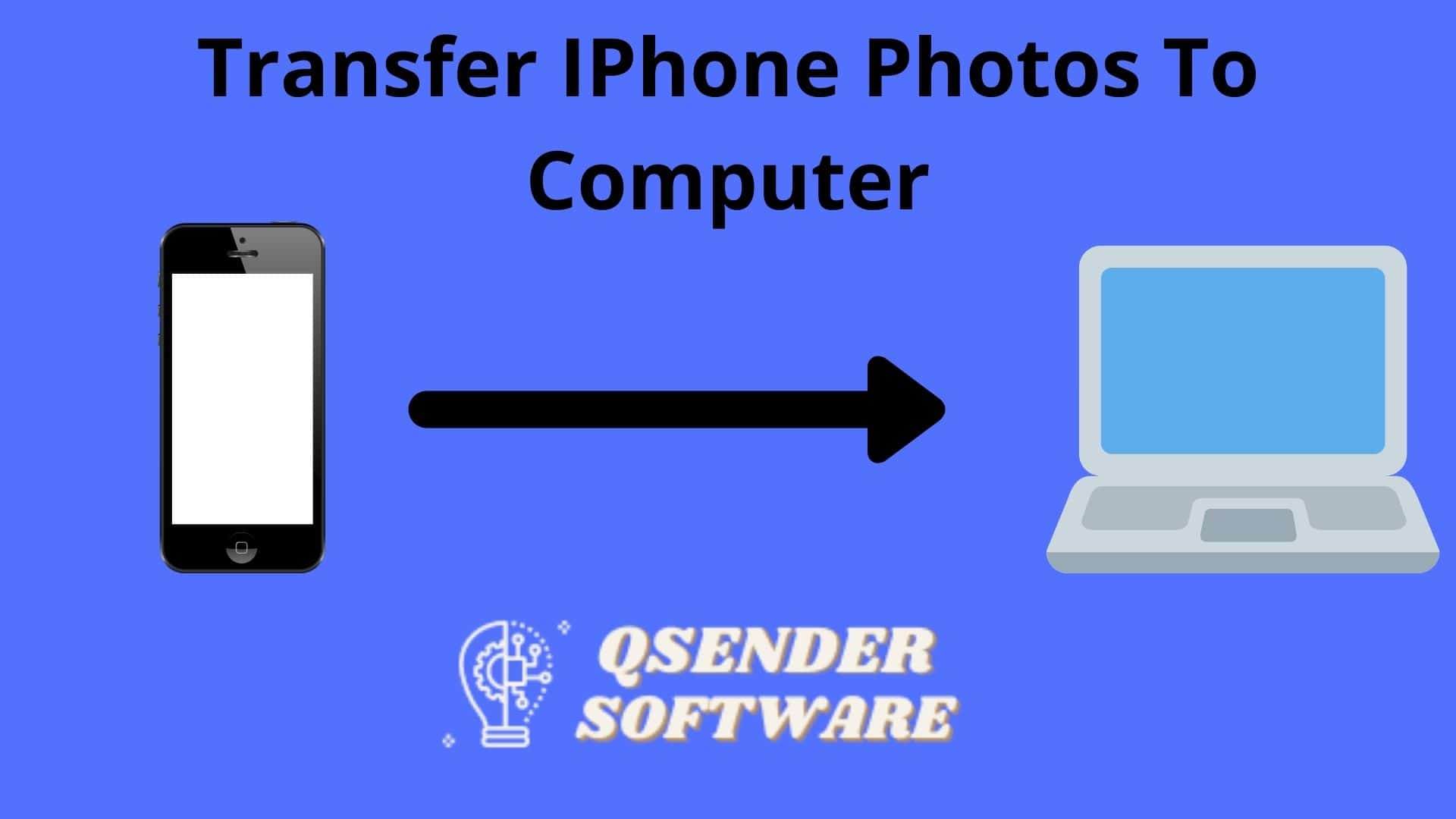 transfer iPhone photos to Computer