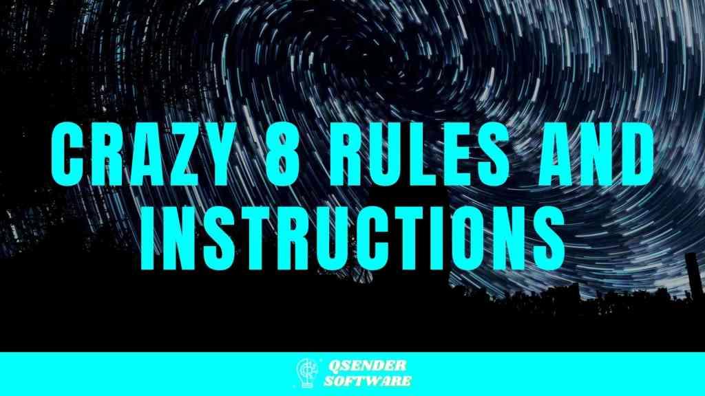 Crazy 8 Rules