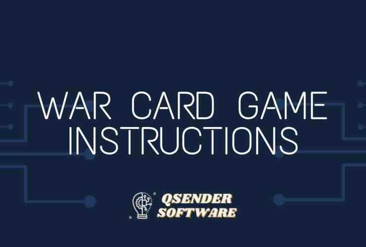 War Card Game