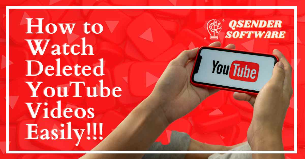 Read more about the article How to Watch Deleted YouTube Videos Easily