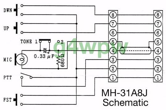 Yaesu 8 Pin Mic Wiring. Engine. Wiring Diagram Images
