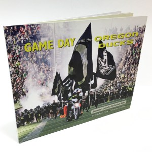 Photo of the book Game Day with the Oregon Ducks