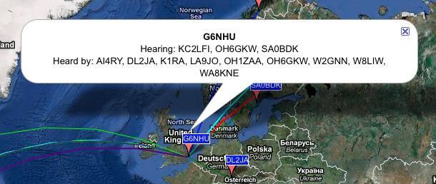 Weak signal propagation on 40m