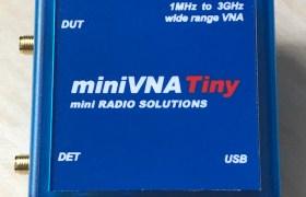 miniVNA Tiny from mini RADIO SOLUTIONS