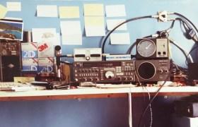 My radio shack in 1991