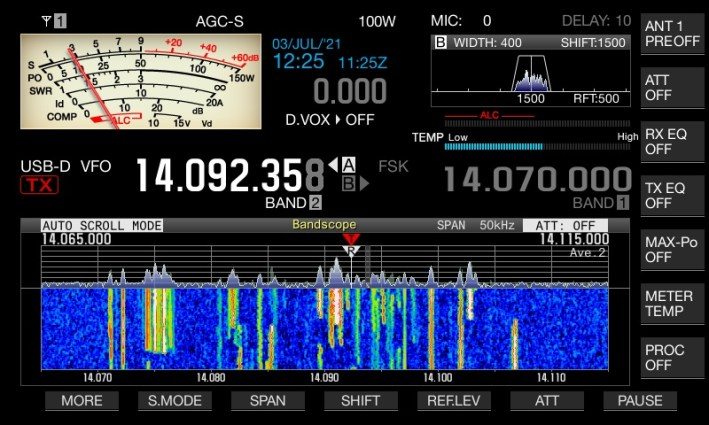 Operating in the DL-DX-RTTY contest