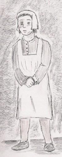 Intersex Thomasine Hall drawing