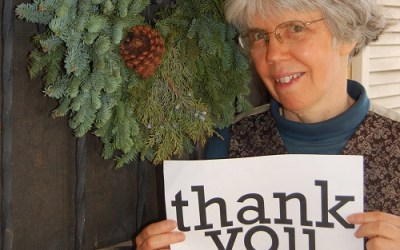 Thank you, donors!  Happy New Year from Kittredge Cherry at Q Spirit and Jesus in Love!