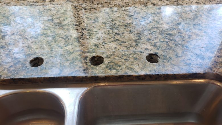 Cracked Granite Repair