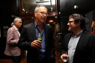 CISS Director James Der Derian and Taylor Owen (UBC). Photo: Gilbert Bel-Bachir.