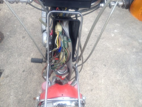 small resolution of 1985 qt50 build project u2013 yamaha qt50 luvin and other nopedsqt50 wiring mess