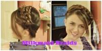Easy Boho Braided Headband, Milkmaid Braids Hair Tutorial ...