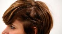 How to Fishtail Braid Short Hair, Pt. 1 | Short Hairstyles ...