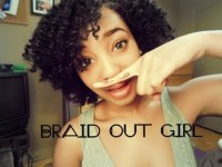 Braid it Out {short natural hair}