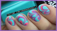Water Marble Nail Art (Tips & Tricks!) | Qtiny.com
