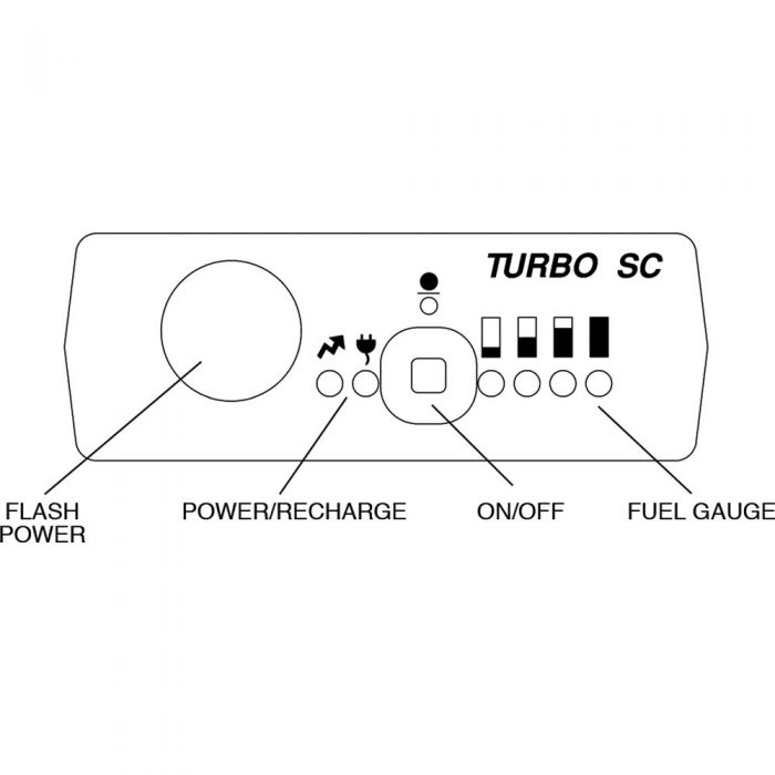 Turbo SC Battery Pack for Portable Flash