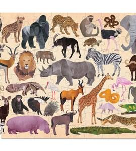100 Pc Puzzle/Wild Animals