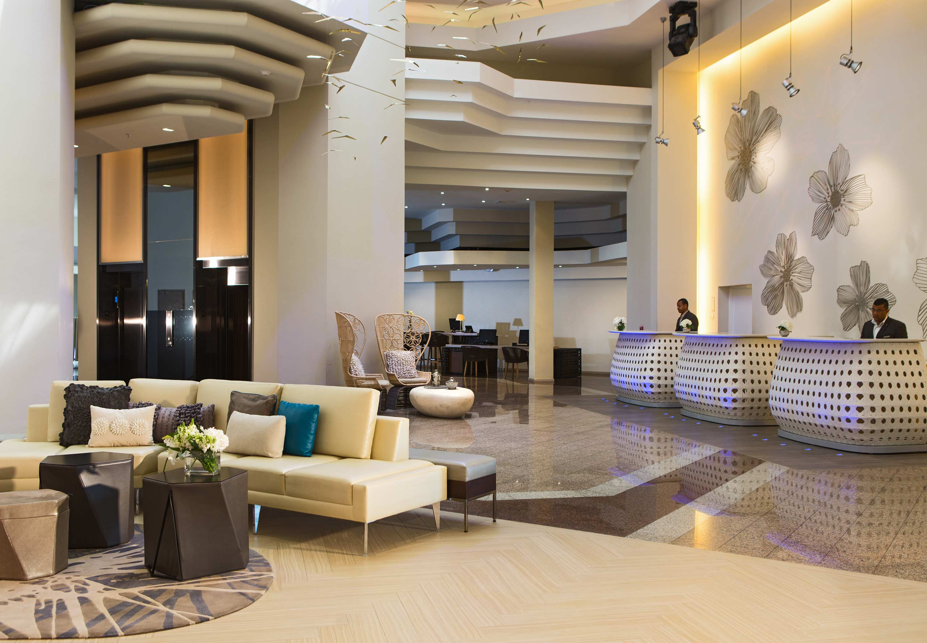 Changing Role Of Front Desks In Lobby Design Hotel