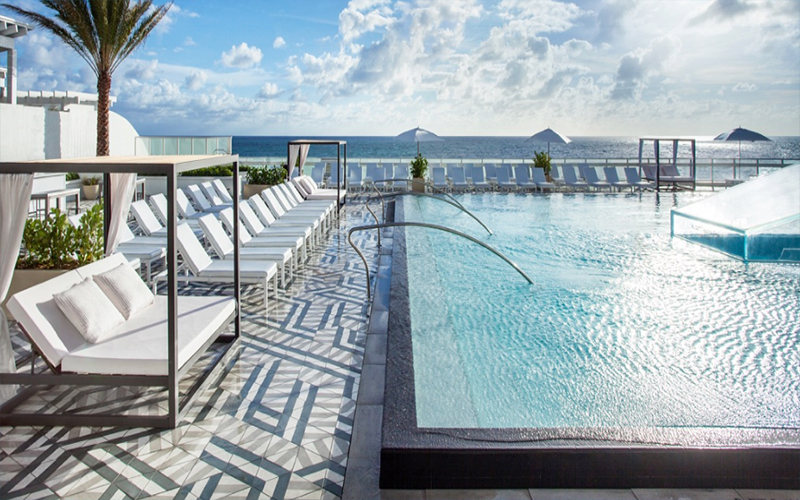 The Cool Pool of the Week W Fort Lauderdale  Travel