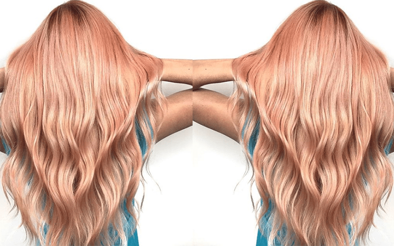 color - rose gold glamour