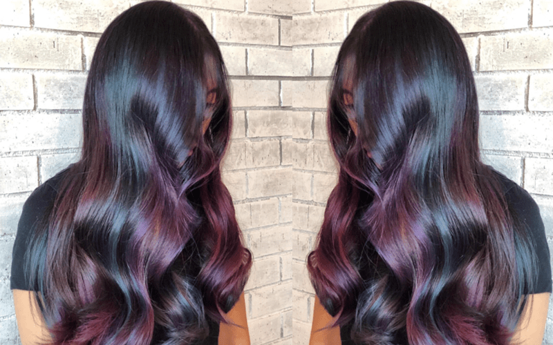 Color How To Oil Slick American Salon