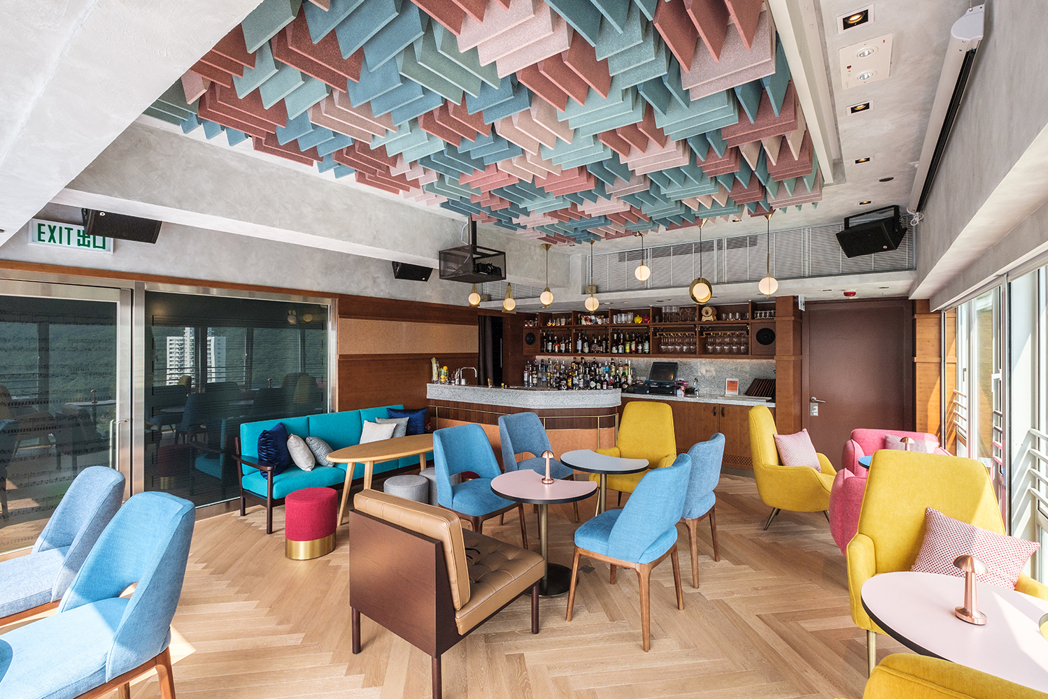 Studio HBA refreshes social spaces of Ovolo Southside in Hong Kong   Hotel Management