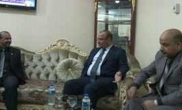السيد رئيس مجلس محافظة الديوانية يزور السيد عميد الكلية