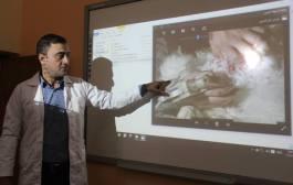 كلية الطب البيطري / جامعة القادسية تقوم بتنظيم حلقة نقاشية عن عملية التلقيح الصناعي في الديك الرومي