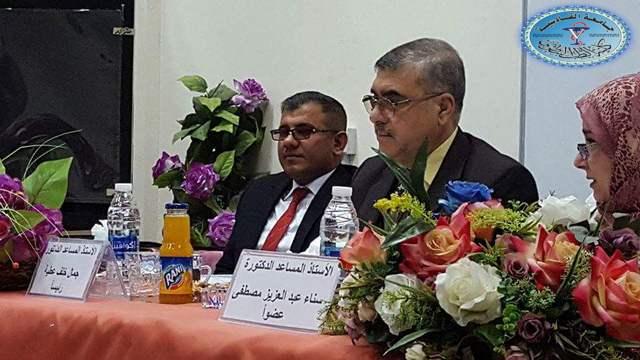 تدريسي من كلية الطب البيطري / جامعة القادسية عضواً في لجنة مناقشة رسالة ماجستير في جامعة بغداد