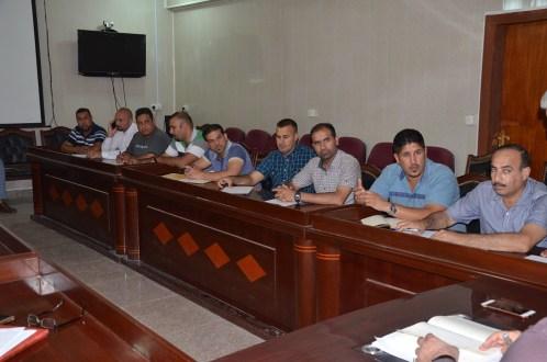 قسم النشاطات الطلابية في جامعة القادسية ينظم ورشة عمل لمناقشة منهاجه للفصل الأول للعام الدراسي 2017-2018