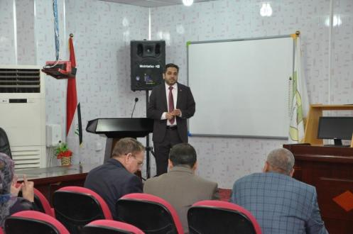 كلية الطب في جامعة القادسية تقيم ندوة توعوية عن مضار المخدرات