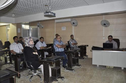 كلية الهندسة في جامعة القادسية تنظم ورشة علمية عن تحليل كفاءة مجموعة تروس نوع سمبسن