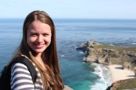 Chrystal at Cape Point. Cape Peninsula Tour